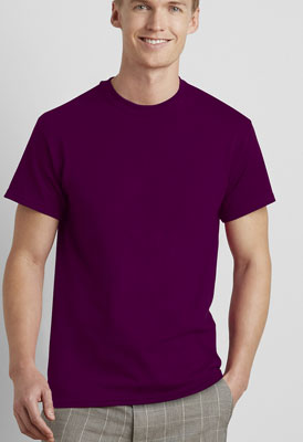 maglietta pesante hevy Gildan