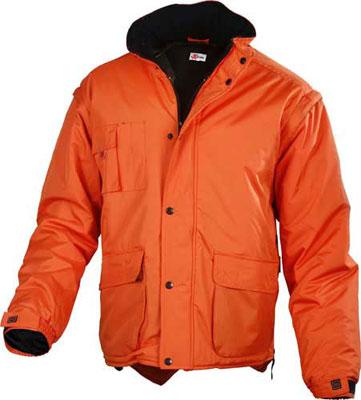 giacca impermeabile maniche staccabili