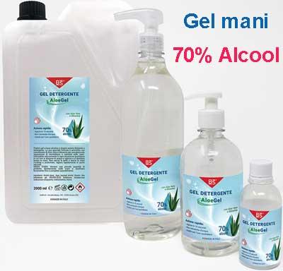 gel mani 70 alcool disinfettante