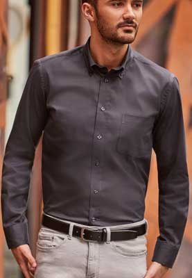 camicia uomo Russel Jerzees