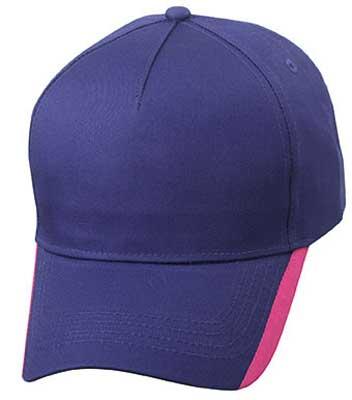 cappellino 5 pannelli bicolore Mirtle Beach