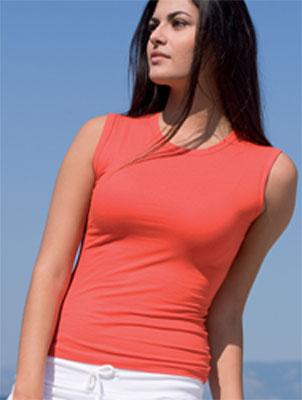 maglietta elasticizzata donna